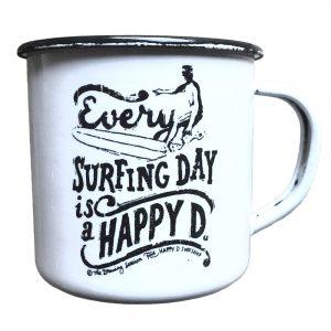 Mug rétro - Happy surfing Day