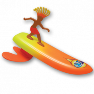 """Costa Rica"" Rick-Surfer Dudes"