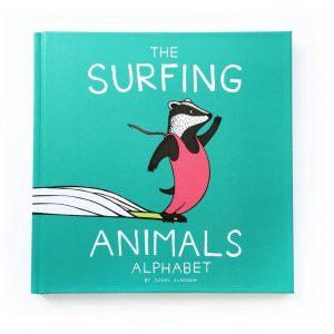 The Surfing Animals Alphabet Book - Jonas Claesson