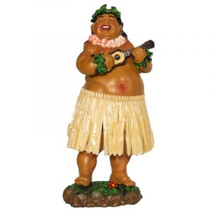 Hula doll - Local Boy with Ukulele