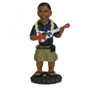 Hula doll - ukulele Obama