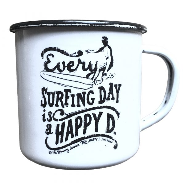 Mug rétro - Happy surfing Day